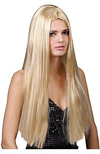 Perruque Adulte Blonde Classique Longue