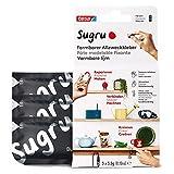 Sugru by tesa - Pegamento Moldeable Multiusos - Masilla Adhesiva Versátil - Para Decorar, Pegar, Reparar y Hacer Creaciones de Bricolaje - Paquete de 3 - 3 x 3.5 g - Negro