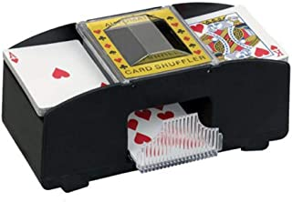 Electric Board Game Cards Shuffler Six Decks Classic Poker and Trading Card Games Supplies for Home and Tournament Use Well-Designed Briskreen Electric Automatic Card Shuffler