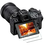 Z7 Z6 top + screen protector [2 + 2 pack], compatible with the ZLMC of Nikon Z7 Z7 II Z6 Z6 II FX digital SLR cameras. The ultra-high-definition tempered glass screen protector has the functions of scratch-proof, anti-air bubble, waterproof and anti-fingerprint.