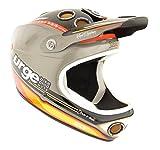 Urge Down-O-Matic 20 Gris S/M - Casco para Bicicleta BMX, Color Gris,Talla S/