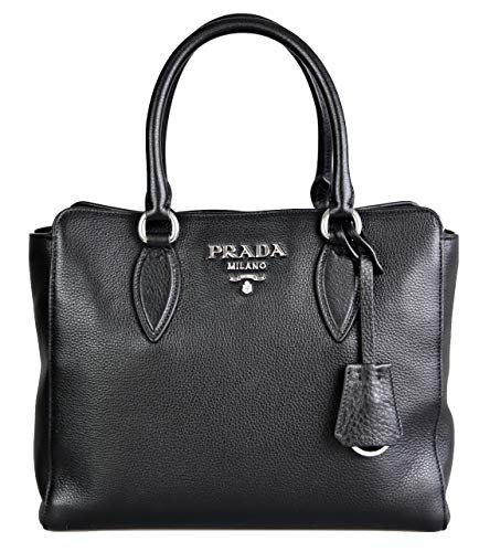 100 Percent Authentic & finest Prada Quality and Craftsmanship. Made of Real Calfskin / Genuine Leather. / height: 13cm / width: 23cm / length: 28cm STANDARD SHIPPING TO USA/CANADA: 10-15 business days || EXPEDITED/PREMIUM SHIPPING TO USA/CANADA: 2-3...
