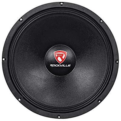"Rockville RVW1500P8 1500w 15"" Raw DJ Subwoofer 8 Ohm Sub Woofer 70OZ Magnet by Audiosavings"