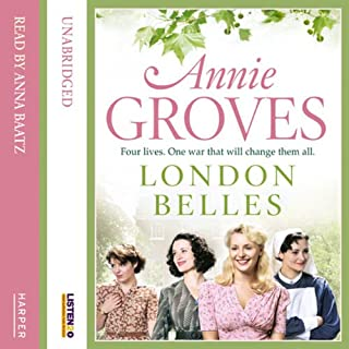 London Belles audiobook cover art