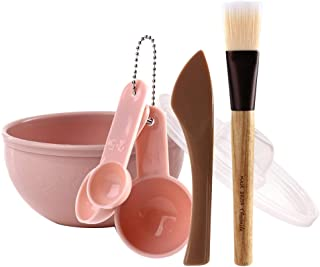 SUPVOX 7pcs Face Mask Bowl Sets Facial Care Mask Mixing Bar Spoon Brush Tool Sets for Women Girls