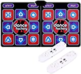 LSWY Estera de Baile, Antideslizante, Resistente al Desgaste, Adulto, Adulto, Doble, Baile de Baile, tapete de Bailarina, tapete con 2 Mangos para computadora, TV (Color : Purple)