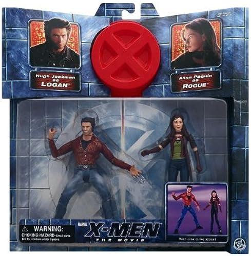 X-Men the Movie Logan Vs. Rogue by X Men