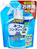 ジョイペット 天然成分消臭剤 ネコのフン・オシッコ臭専用 つめかえ用 お徳用 450ml
