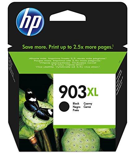 HPT6M15AE 903XL Cartucho de Tinta Original de alto rendimiento, 1 unidad, negro