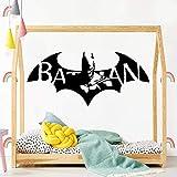 Tianpengyuanshuai Bat Vinilo Autoadhesivo Impermeable Etiqueta de la Pared habitación de los niños...