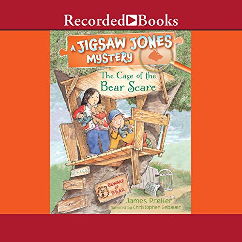 Page de couverture de Jigsaw Jones: The Case of the Bear Scare