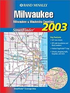 Rand McNally Milwaukee Streetfinder: Milwaukee & Waukesha Counties (Rand McNally Streetfinder)