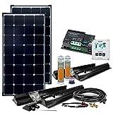 Offgridtec 5290 - Prima solaranlage caravana xl 200w 12v sistema completo kit solar de caravanas, 00