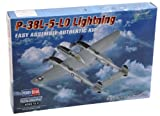Hobby Boss Easy Assembly P-38L-5-LO Lightning Airplane Model Building Kit