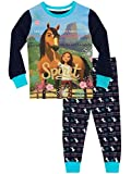 DreamWorks Girls' Spirit Riding Free Pajamas Size 6 Blue
