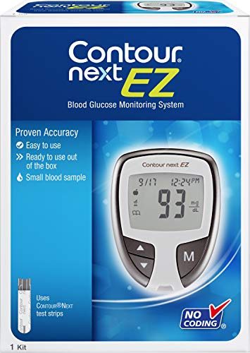 The CONTOUR NEXT EZ Blood Glucose Monitoring System