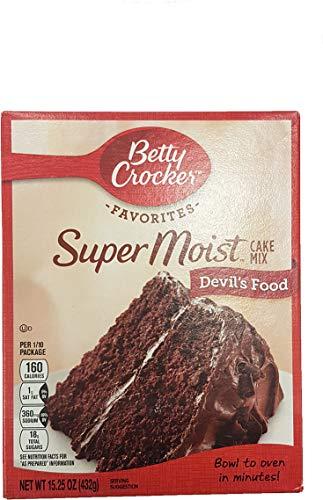 Betty Crocker Super Moist Cake Mix Devils Food 432g