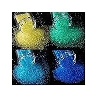 HANGQINGHENG ネイルラインストーンシャイニーガラス3DクリスタルビーズAB色のネイルアートデコレーションアクセサリー (Color : RKBL 4pcs)