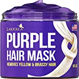 Best Hair Toners - Purple Hair Mask for Blonde with Keratin Review