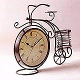 CWLLWC Reloj De Sobremesa Creativo, Moderno, Moderno, con Forma De Reloj, Superficie, Silencio, SalóN, Reloj