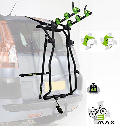 Flauraud 160626 Green Valley-Porta-Bicicleta Trasero Alzado