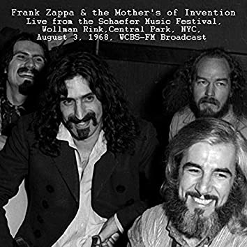 Live From The Schaefer Music Festival, Wollman Rink, Central Park, NYC. Aug 3rd 1968, FM Broadcast