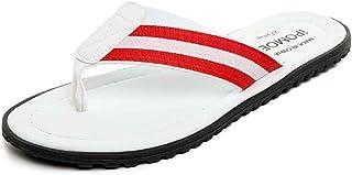 Version coréenne Estivale avec des Sandales antidérapantes en Plein air Chaussures de Plage (Color : White, Size : 43)