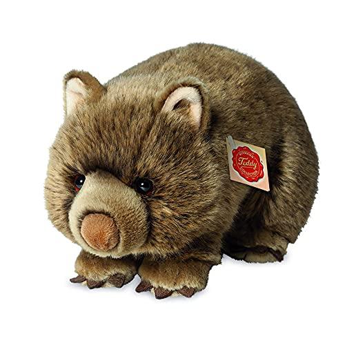 Teddy Hermann 91426 Wombat 26 cm, Kuscheltier, Plüschtier, Sonderedition Teddy Hermann erklärt