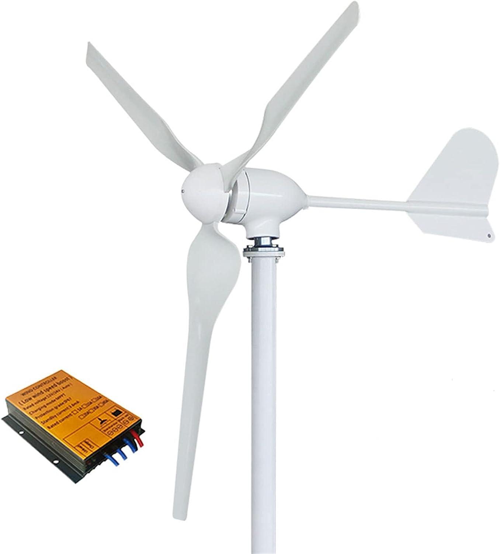 Aerogeneradores 1000W 1500W 2000W Generador de turbina de energía eólica 12V 24V 48V 96V con controlador Energía libre de inversor para la alta eficiencia para el hogar Energía solar y eólica