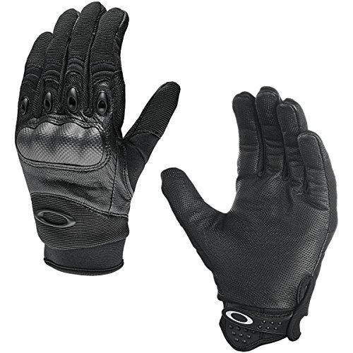 Oakley Mens Factory Pilot Glove, Black, Medium