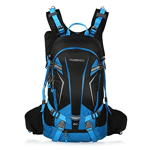 TOMSHOO Mochila Ciclismo 20L/30L Impermeable Excursionismo