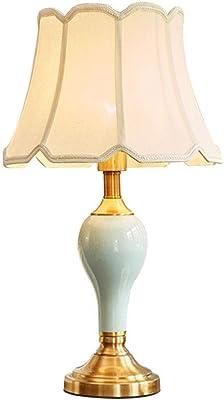 Aveo Lampe de Chevet Céramique Table de Chevet Lampe, Lampe Moderne Chevet de Bureau, Chambre Lampe de Table for Chambre Bureau Salon Lampe de Bureau (Color : D, Taille : Dimmer Switch)