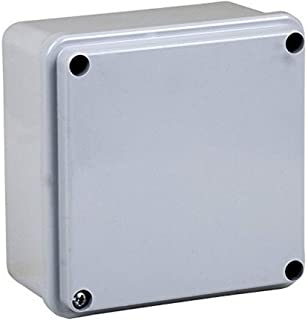 Electraline 60557 Distribution Box Smooth Surface-Mounted 100 x 100 mm