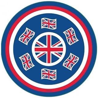 Great Britain Union Jack 33cm Melamine Platter