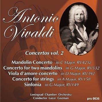 Vivaldi: Mandolin Concerto in C Major, RV425