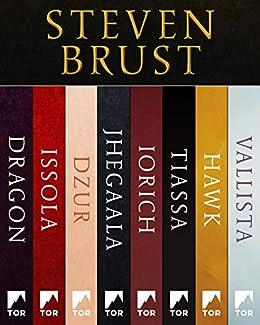 A Vlad Taltos Collection: Dragon, Issola, Dzur, Jhegaala, Iorich, Tiassa, Hawk, Vallista by [Steven Brust]