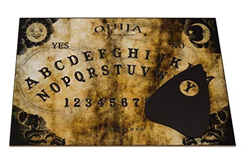 Wiccan Star Tablero del ouija con instruccion En España y Planchette. Ouija Board