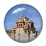 Imán de nevera 3D para el frigorífico del Museo Nacional de Escultura de España Valladolid