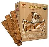Jeffo Barbecue Ribs Hundekekse mit Rindfleisch