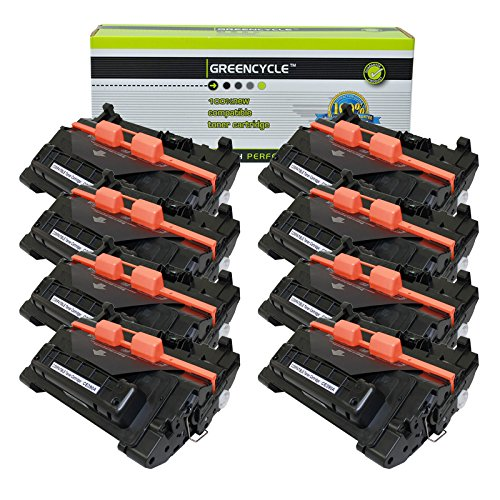 GREENCYCLE CE390A 90A Toner Cartridge Replacement Compatible for HP Laserjet M4555f M4555fskm M4555h Laserjet Enterprise M603dn M603n M603xh M602n M602x Series Printers (Black, 8 Pack)