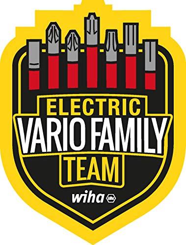 Wiha 43465 Werkzeug Set slimVario electric gemischt 31-tlg. in Funktionstasche Tool, Red Yellow, 32