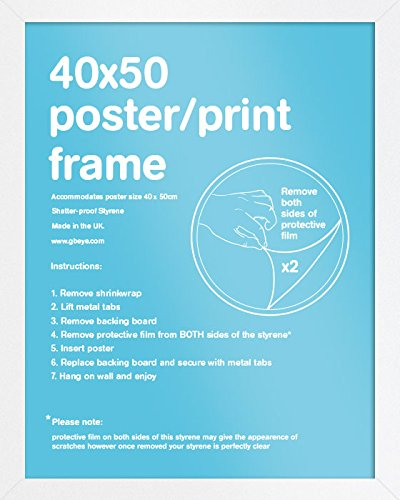 GB eye Ltd, Blanc - Mini, 40x50cm - Eton, Cornice