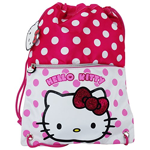 Hello Kitty Sacco Scuola Tempo Libero Multiuso