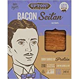 Uptons Naturals Bacon Seitan 142g | 100% Vegano (Pack de 4)