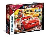 Clementoni 3 Cars The Movie Supercolor Puzzle Maxi, 60 Pezzi, 26424