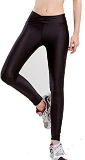 Romastory Women Fluorescent Colors Tights Stretched Sports Leggings Yoga Pants