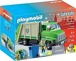Playmobil Green Recycling Truck Playset 5679