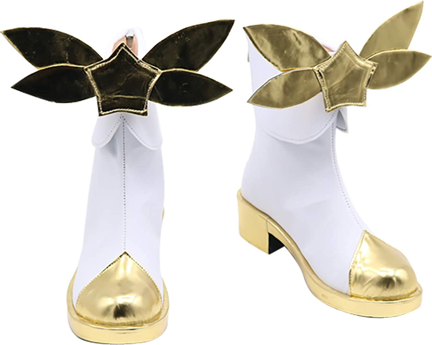 GSFDHDJS Cosplay Bottes Chaussures for League of Legends Luxanna Crownguard