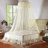 GBB Doppelbett Moskitonetz Mückenschutz Zelt Bett Vorhang Bett ZeltGelb