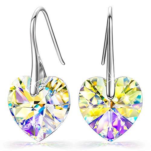 Kate Lynn Ohrringe für Frauen Valentinstag für Sie Geschenke für Frauen Sterling Silber Ohrringe personalisierten Geburtstags für Frauen